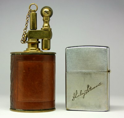 The Executive lighter and Zippo