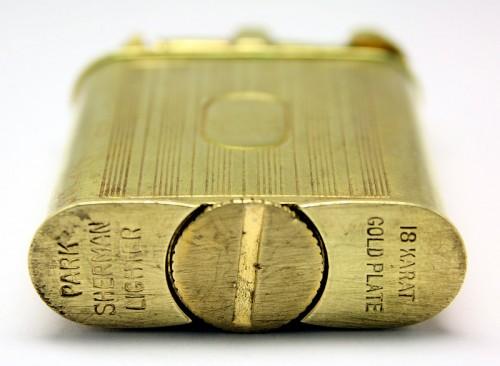 Park Sherman Gold Plated liftarm, 1930